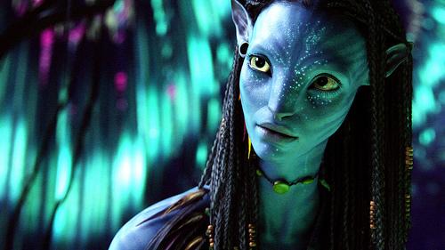 """Hoher oder niedriger Beautyquotient? Neytiri, aus dem Film """"Avatar"""" von James Cameron."""